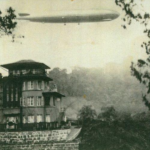 Viagem de dirigível Graf Zeppelin, de Isolde Hering
